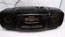 Panasonic Mash RX-DT30 Retro Boombox Portátil Estéreo reproductor de CD Radio Cassette