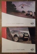 NISSAN PICK UP orig 2003 UK Mkt Sales & Accessories Brochure Set