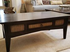 Dark wood coffee table Pier One Imports