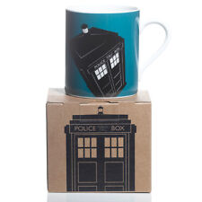 DOCTOR WHO BLUE TARDIS MUG BOXED OFFICIAL BBC GREAT GIFT