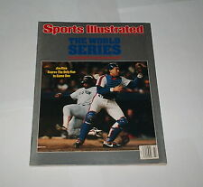 1986 NEWSSTAND NO LABEL ! Sports Illustrated GARY CARTER World Series NY METS !