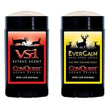 ConQuest Scents Hunters Pack Scent Sticks VS-1 Estrus Ever Calm Deer Herd #90375