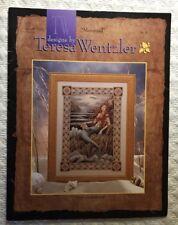 Teresa Wentzler Mermaid Cross Stitch Pattern Chart Leaflet Sea Ocean 1995 New