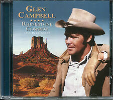GLEN CAMPBELL RHINESTONE COWBOY LIVE IN CONCERT CD - CRYING, GALVESTON & MORE