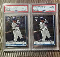 2019 Topps Chrome Update Fernando Tatis Jr. #54 PSA 10 Gem Rookie Card RC (X2)