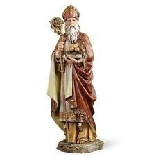 "SALE! 10"" St Nicholas Saint Nick Bishop of Myra Wonderworker Statue Figurine"