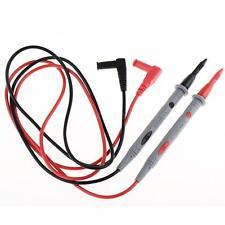 2 X Heavy Duty Multimeter Voltmeter Rubberized Test Probe Leads 1000V 20A Hot
