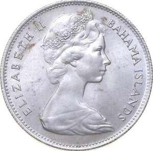 Better - 1966 Bahama Islands 1 Dollar - TC *410
