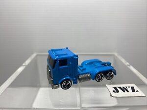 Hot Wheels 1986 Mattel Trailer Semi Truck Cab Toy Car - RARE 🔥