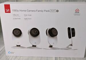 YI 1080p home camera family pack 4 in 1