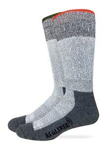 Realtree Men's Ultra Dri Merino Wool Blend Mid Calf Boot Socks 2 Pair Pack