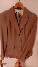 STRENESSE Elegantes Kostüm Damen Anzug gr. 38 Blazerund Rock 100% Schurwolle