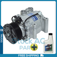 New A/C Compressor For Sterling Truck Acterra 7500 2001-07 - OE# YC4H19D629CB QR