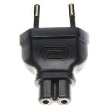 Adapter Stromadapter Euro 8 Buchse auf Flachstecker Euro Stecker Eurostecker
