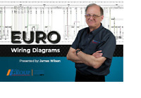 Automotive Electrical Training Euro Wiring Diagrams DVD & Manual LBT-344