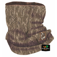 DRAKE WATERFOWL OL TOM TURKEY PERFORMANCE BUFF FACE MASK BOTTOMLAND CAMO