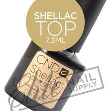 CND SHELLAC Top Coat 7.3ml + FREE CND Foil Remover Wraps 10ct Valued at $6.95
