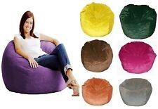 Without Beans Comfortable & Washable Velvet Bean Bag Cover Size XXXL