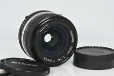 Nikon Nikkor 28mm F2.8 Ai-s  AI S for manual or DSLR with manual Nice