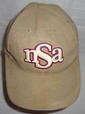 NSA Hat Embroidered Baseball Cap Red White Blue Khaki Snapback Adjustable