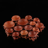Acid Branch Wood Display Stand Base For Crystal Ball Sphere Globe Stone Decor--
