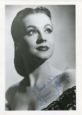 ANNE JEFFREYS ACTRESS IN TOPPER & ZOMBIES ON BROADWAY SIGNED PHOTO AUTOGRAPH