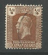 Used George V (1910-1936) Caymanian Stamps