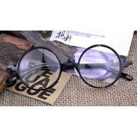 Vintage Tortoise Round Spectacles Eyeglass Frames Retro Acetate Glasses Men J542