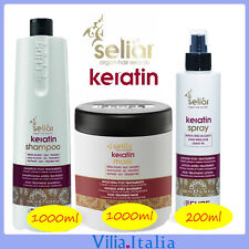 Kit per capelli senza parabeni - Shampoo 1000ml + Maschera 1000ml + Spray 200m