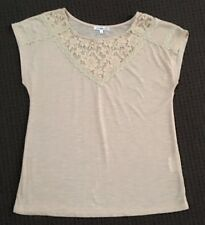 Valleygirl Lace Panel Top - Size Medium - Excellent Condition