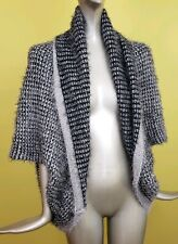 LVS Collections Grey Womens Sweater Top Vest One Size