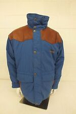 Powderhorn Blue Thermoloft Insulated Winter Jacket Men's Size Large LOOK