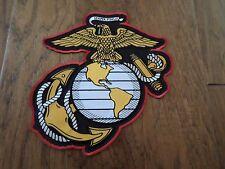U.S Military Marine Corps Eagle Globe & Anchor Ega Oversize Back Patch 10 X10.5