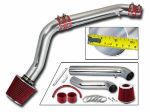 RED COLD AIR INTAKE KIT+FILTER For Honda 92-95 Civic/93-97 DEL SOL 1.5L/1.6L