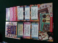 Cross Stitch and Craft book bundle