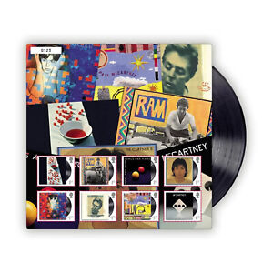 UK 2021 Paul McCartney Music Giants Fan Sheet Albums 8 Stamps Limited Edition