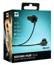 iFrogz/Zagg Sound Hub XD2 Bluetooth Wireless Earbuds/Headphones - Black