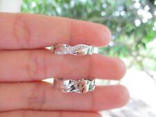 .12 Carat Diamond White Gold Wedding Ring 14k WR50 sep