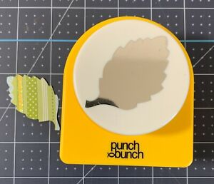 Punch Bunch Super Giant BIRCH LEAF Paper Punch Leaves Floral Crafts Quilling