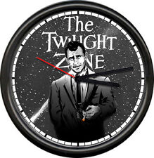 Twilight Zone Science Fiction Psychological Thriller Retro TV 50 Sign Wall Clock