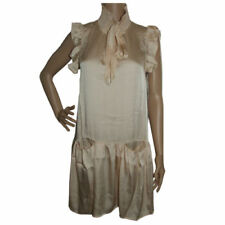 Short Dresses Tunic/Smock Dress for Women with Pockets