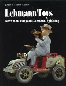 Lehmann German Tin Toys - Identification incl. 700 Illustrations / Scarce Book