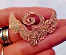 BIKER Pin INDIAN ? BIG CHIEF harley custom legacy brass hand made RED larry