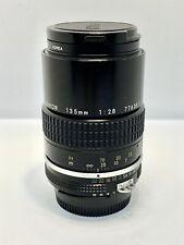 Objectif Télé fixe NIKON AI NIKKOR 135mm f/2,8 Prime Lens + Skylight Filter
