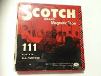 Scotch Brand Sound Recording 5 Inch Reel To Reel Tape. Good Condition. (FS10)