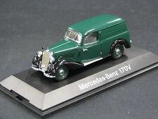 Schuco Mercedes-Benz 170 V Kastenwagen 1:43 Green / Black (JS)