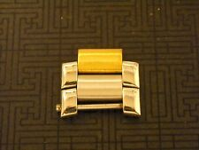 Baume & Mercier Riviera AUTOMATIC or QUART Watch Link 18k Gold and S/S (2pcs)