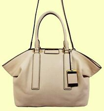 MICHAEL KORS LEXI LG E/W VANILLA LEATHER SATCHEL BAG Msrp $895*FREE SHIPPING*