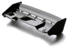 Plástico durable 1:8th rallcross Downforce 2 ala en Negro Universal 1/8th Escala