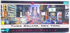750 piece Puzzle New York Times Square Broadway 38x11 inch Panoramic New